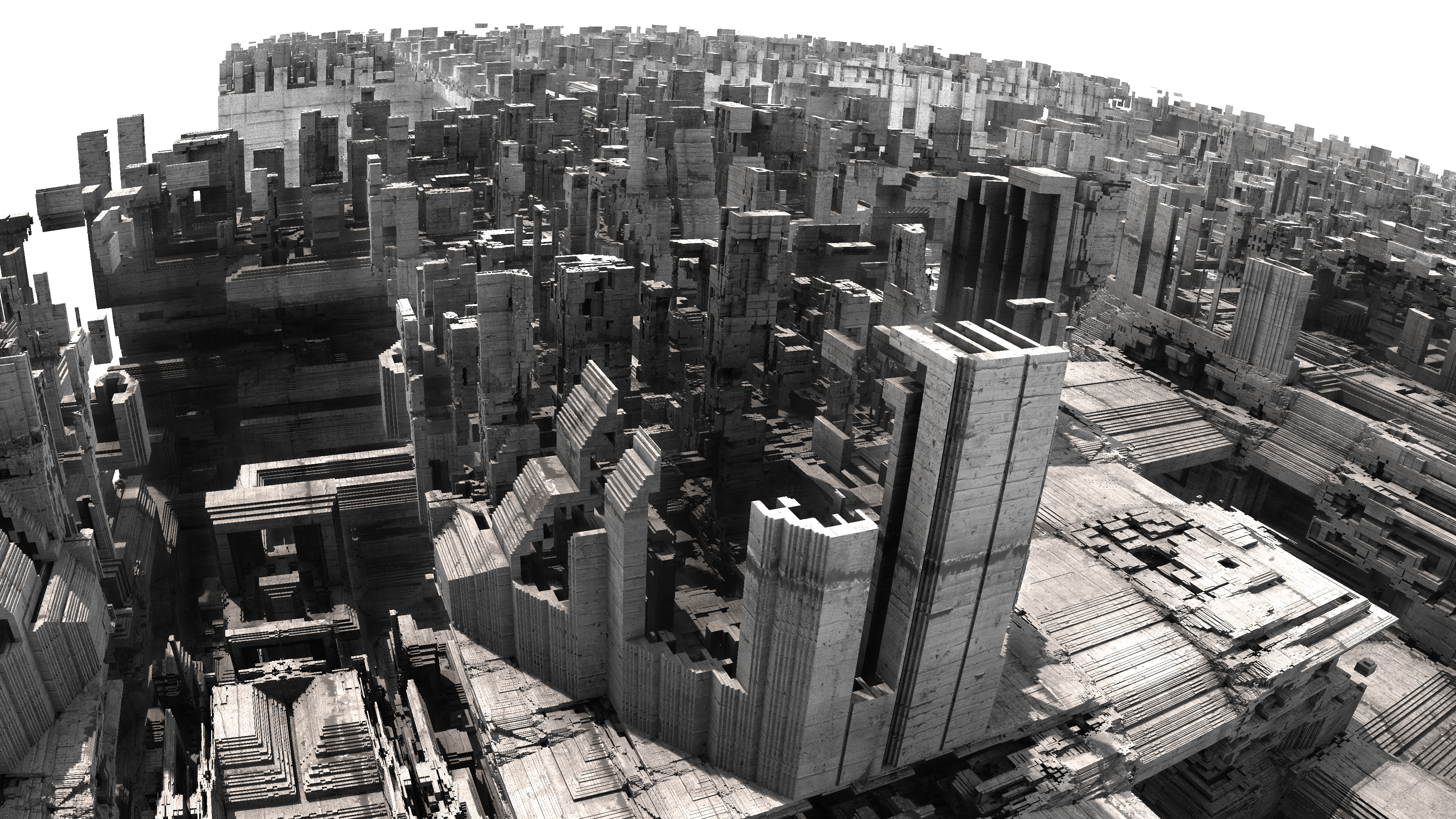 another city - Mandelbulb3D with Parameter by matze2001 on
