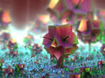 cubic flowers - Mandelbuld3D with Parameter