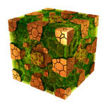fractured cube - Mandelbulb3D with Parameter