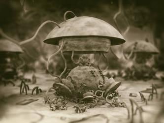 mushrooms? - Mandelbulb3D with Parameter