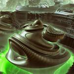alien #3 - Mandelbulb3D with Parameter