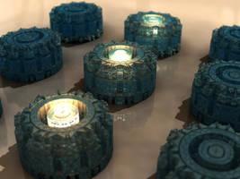 render skills - Mandelbulb 3D with Parameter by matze2001