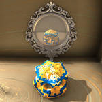 mirror scene - Mandelbulb3D with Parameter