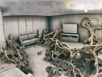 inside room #2 - Mandelbulb3D with Paras/Maps by matze2001