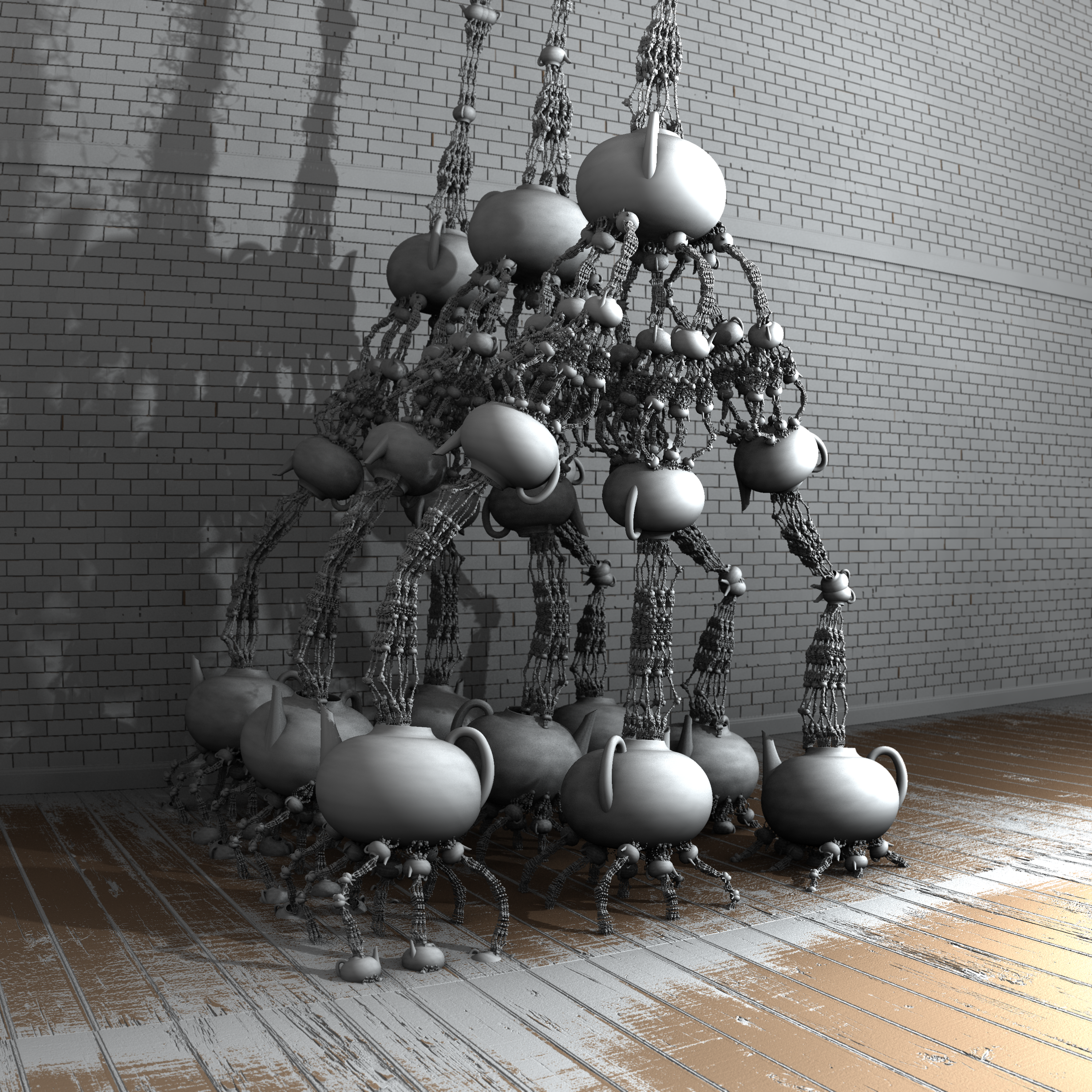 Teatime - Mandelbulb3D with Parameter and Maps