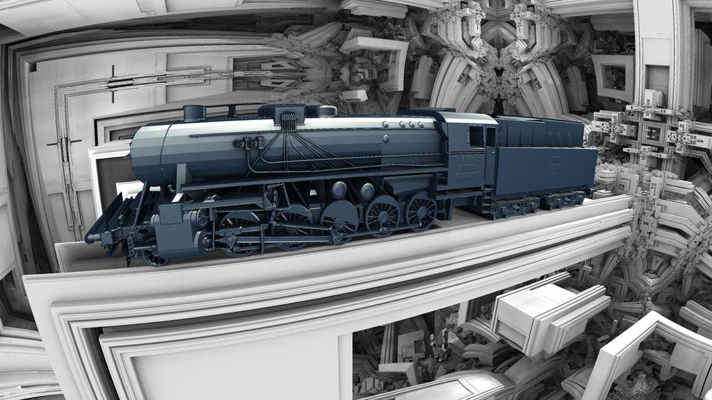 train - Mandelbulb3D with Parameter