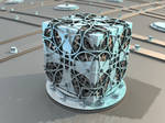 wheel cube - Mandelbuld3D with Parameter and Map