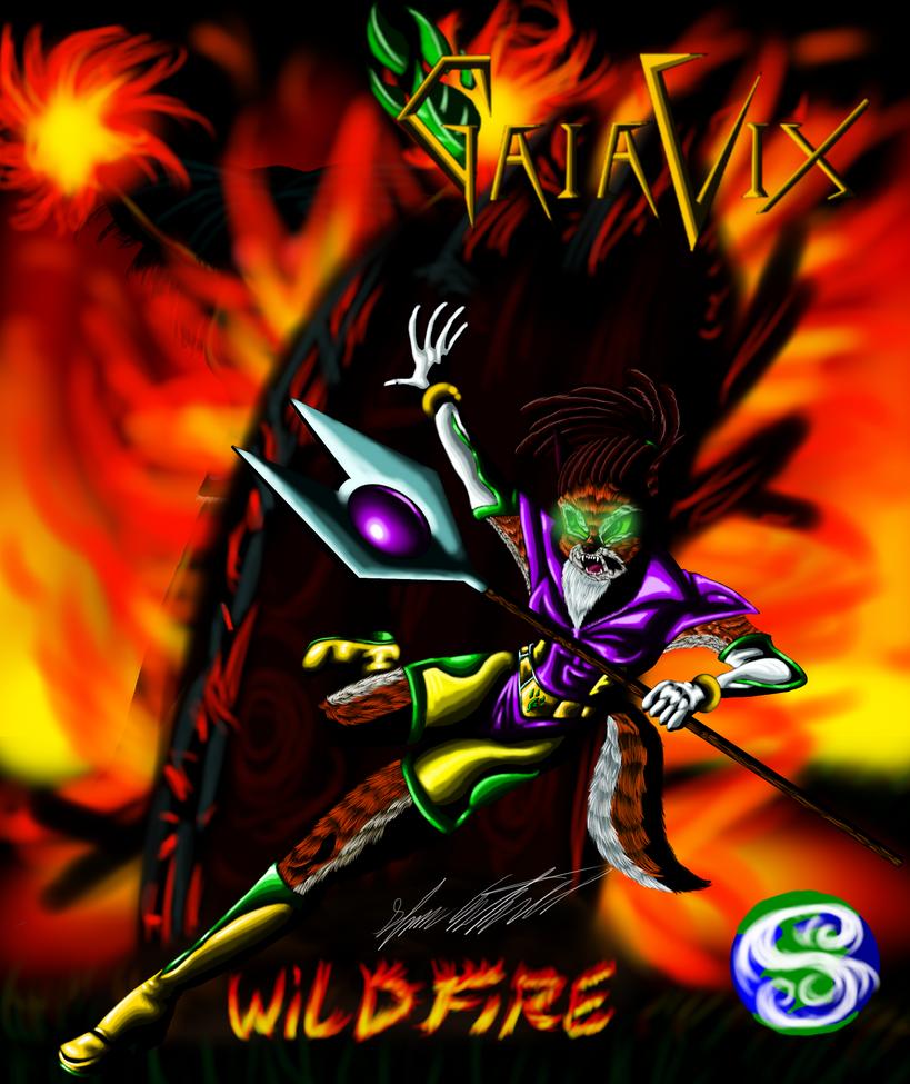 GaiaVix WildFire saga cover by MrSman5
