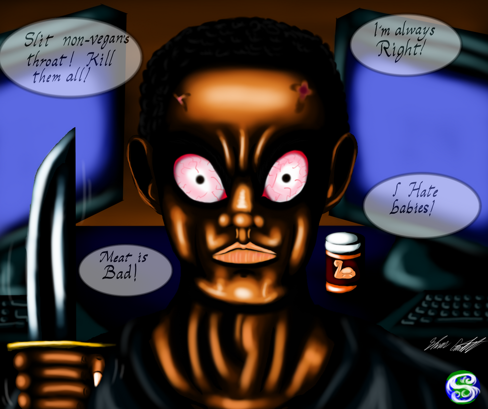 Internet Psycho 9 Vegan Gains by MrSman5