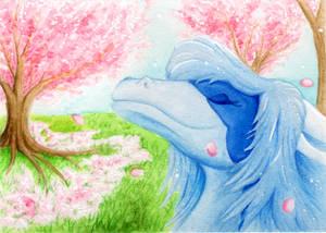 ACEO for Samatha-dragon by MiaErrianIrielynn
