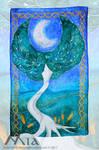Commission : Celtic tree