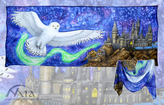 Hogwarts and Hedwig