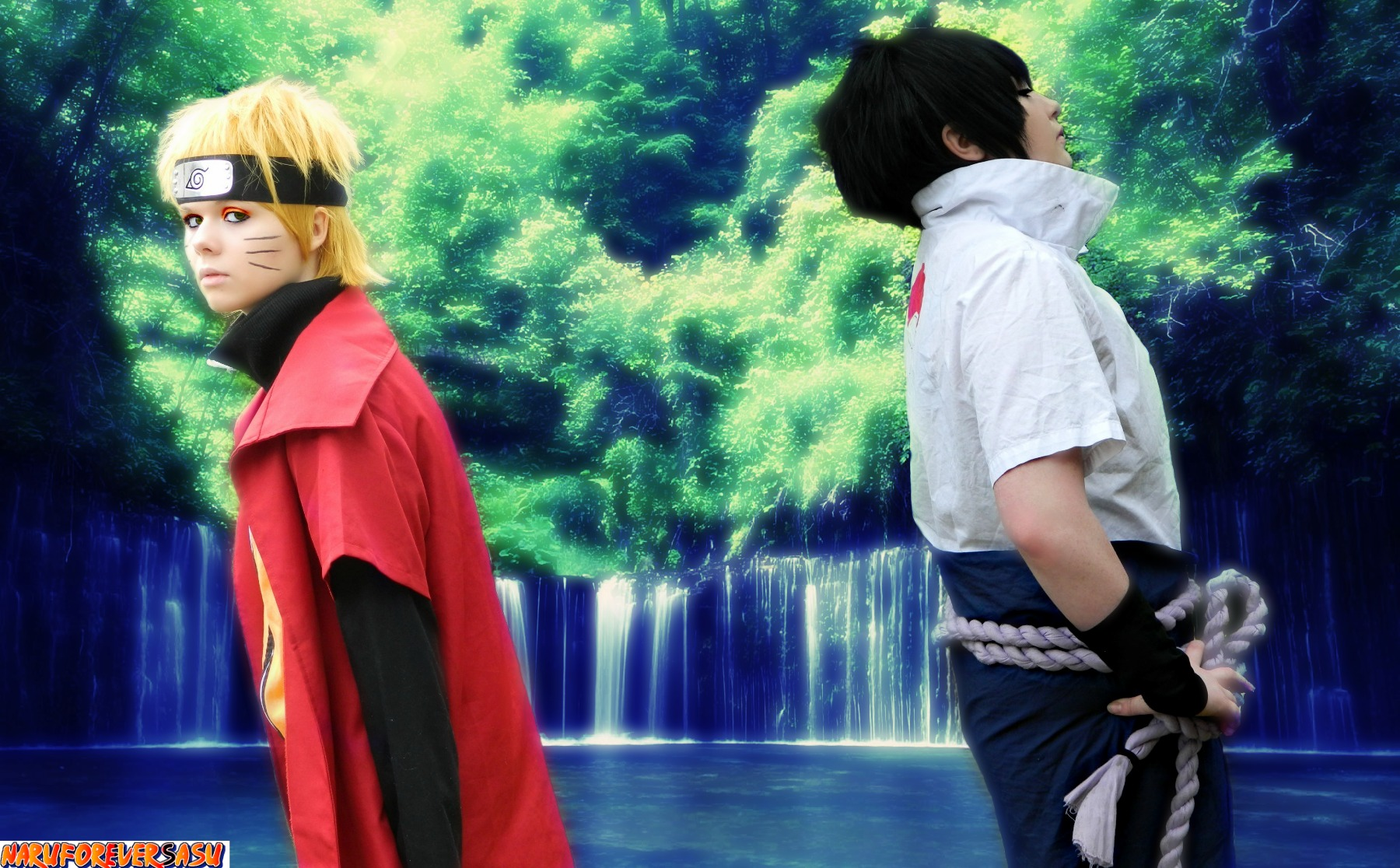 Naruto and Sasuke - Broken Bonds by NaruForeverSasu