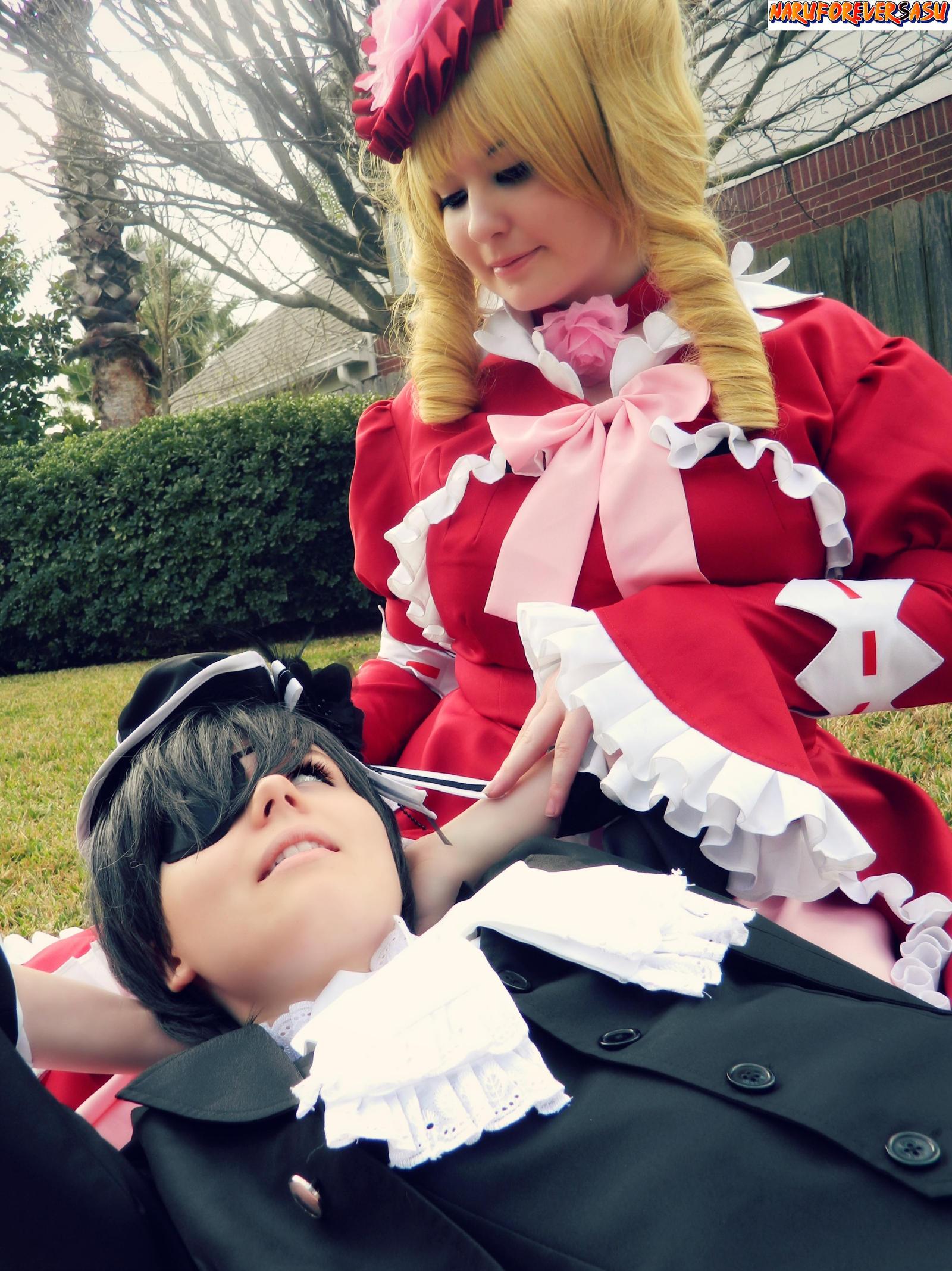 Can I borrow your lap?~ by NaruForeverSasu