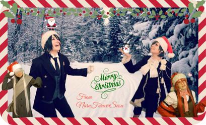 Merry Christmas By NaruForeverSasu!