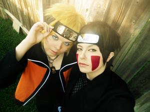 Kiba and Naruto, S E L F I E