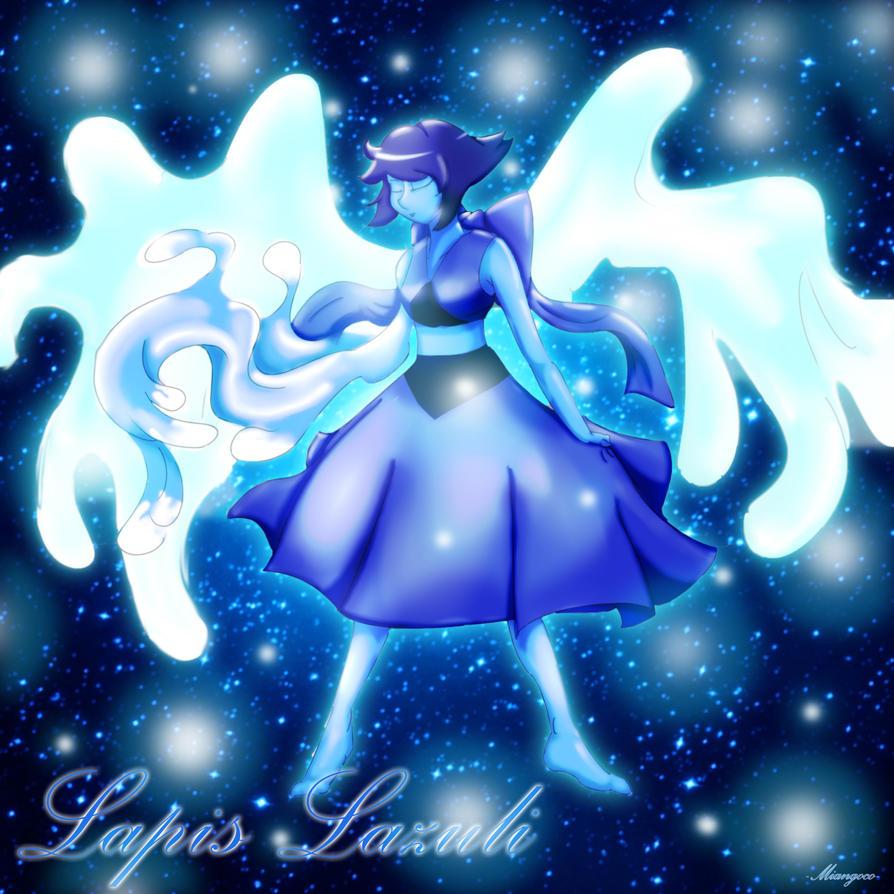 lapis lazuli fan art steven universe by miangoco on deviantart