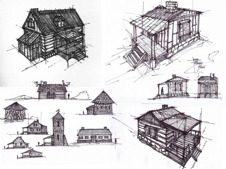 sketchbook_buildings_01 by MacRebisz
