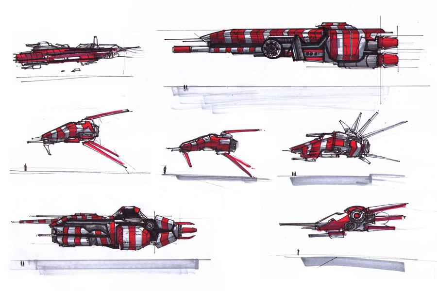 spacecrafts_20071022 by MacRebisz