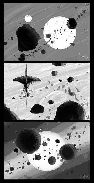 2009-09-03 Space sketches