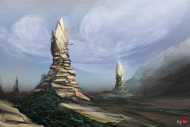 Towers by MacRebisz