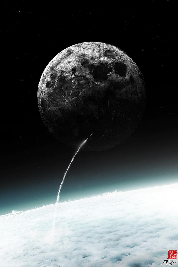 To the Moon by MacRebisz