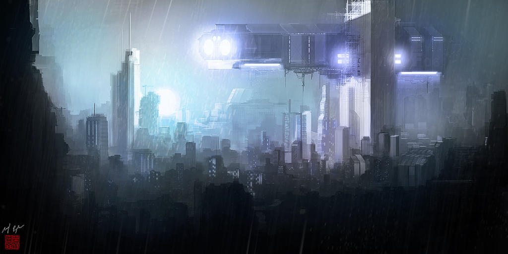 Rainy Dawn by MacRebisz