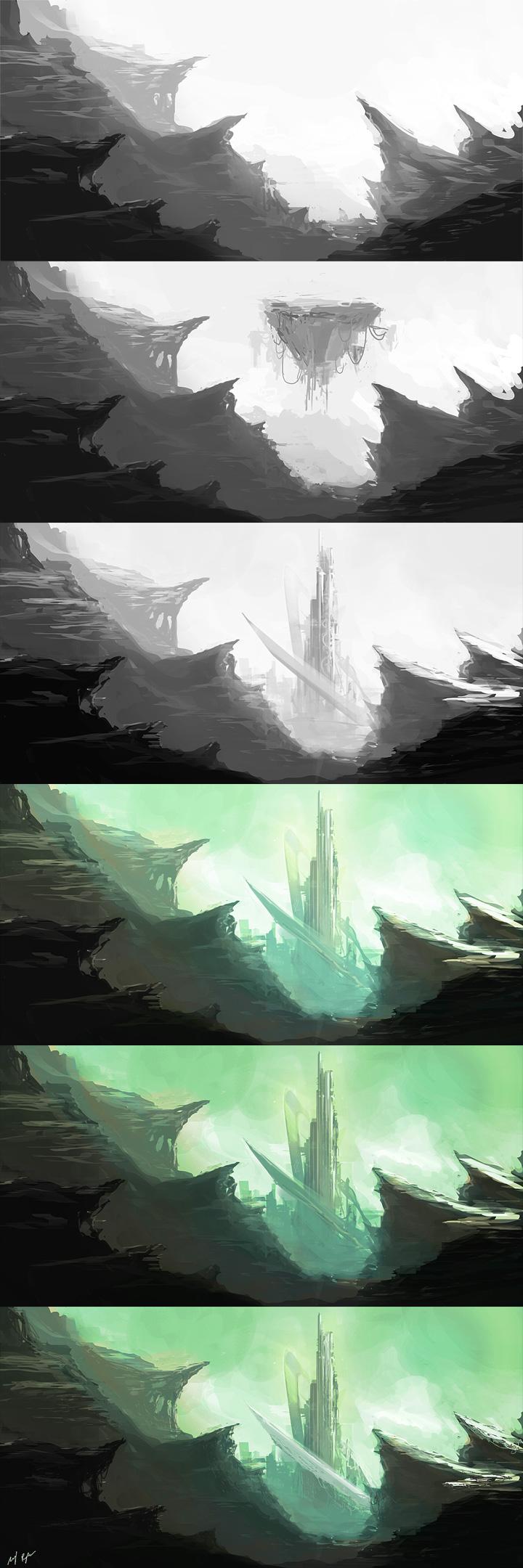 The Citadel steps by MacRebisz