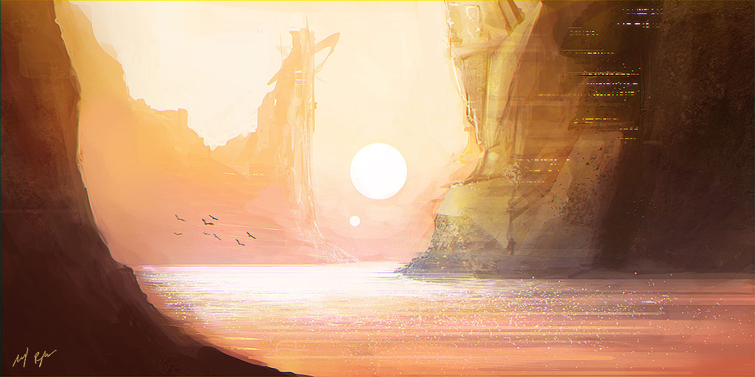 Unknown Landscape II by MacRebisz