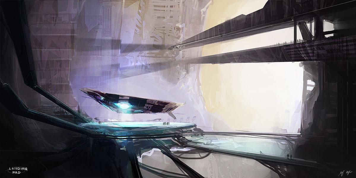 Landing pad by MacRebisz
