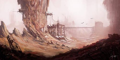 Barren Land by MacRebisz