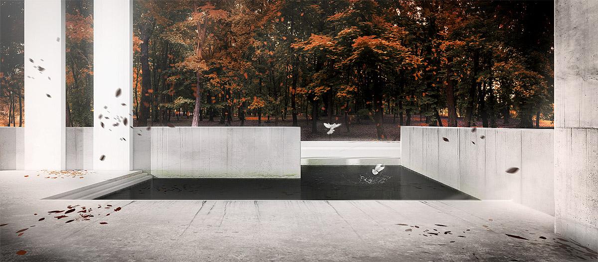 Forest Pond by MacRebisz
