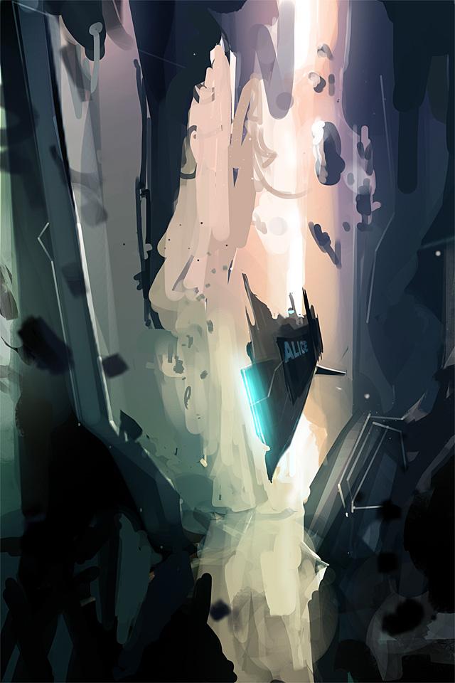 alice in the rabbit hole by MacRebisz