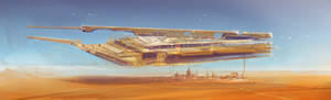 merchant ship concept