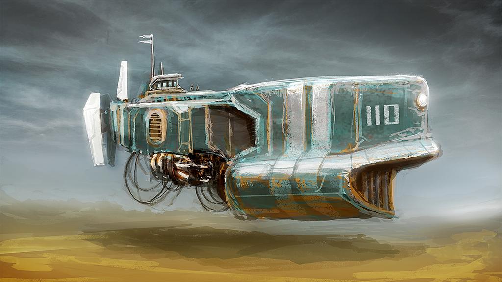 Boat by MacRebisz