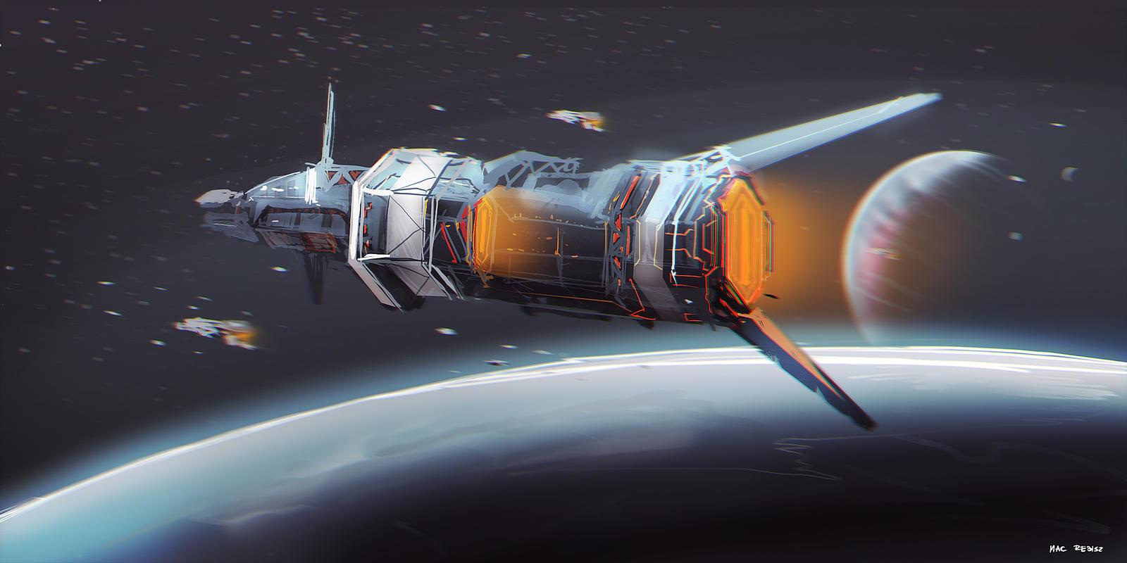 CoffeePainting: Space scene by MacRebisz