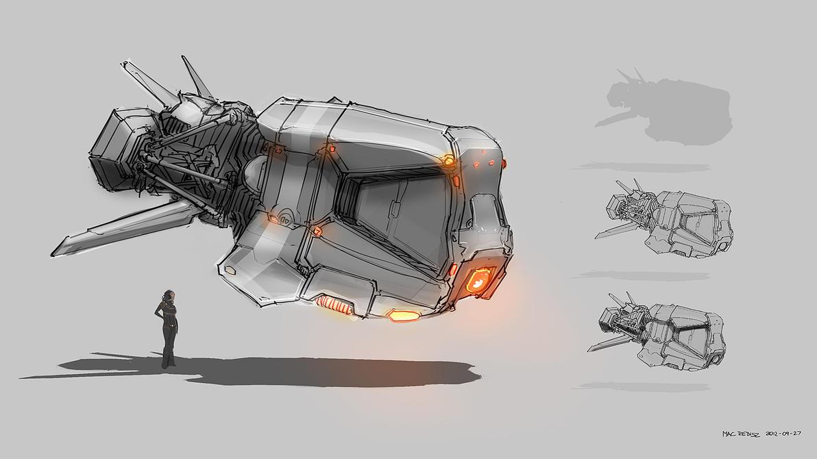 fighter concept by MacRebisz