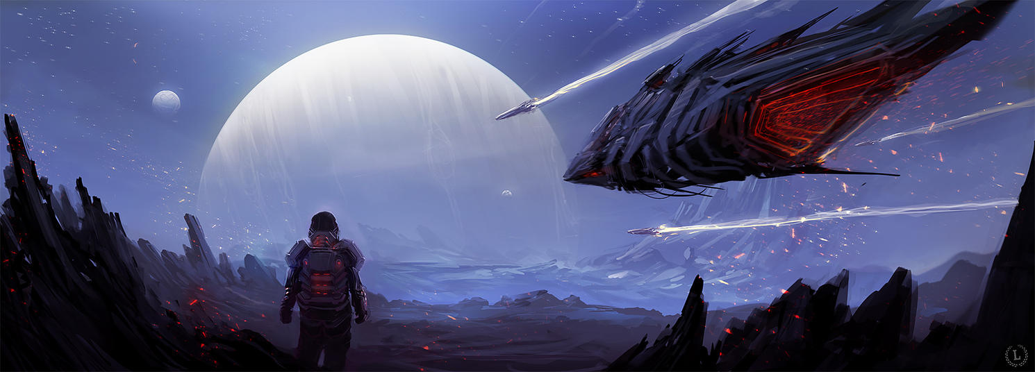 Alien horizon by MacRebisz