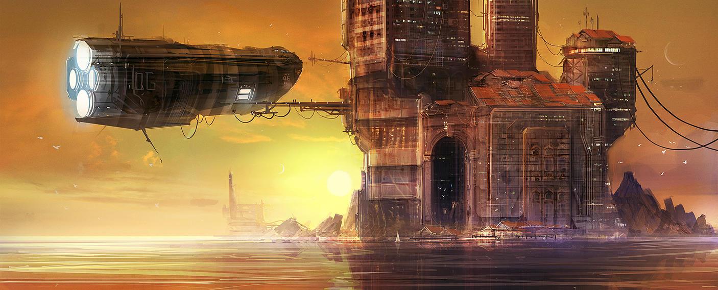 Island dock by MacRebisz