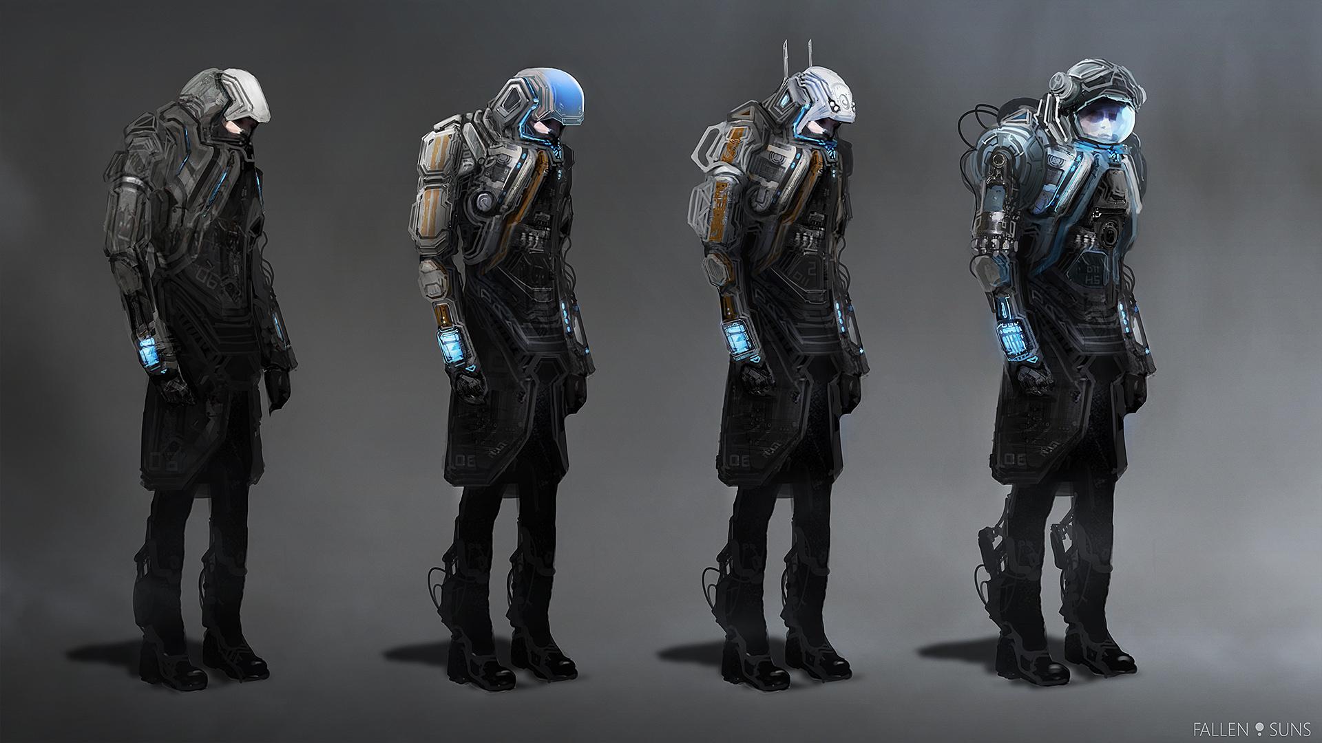 Fallen Suns: Protective suits concepts by MacRebisz on ...