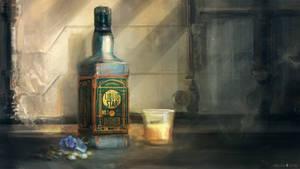 Fallen Suns: Liquid Star Whiskey