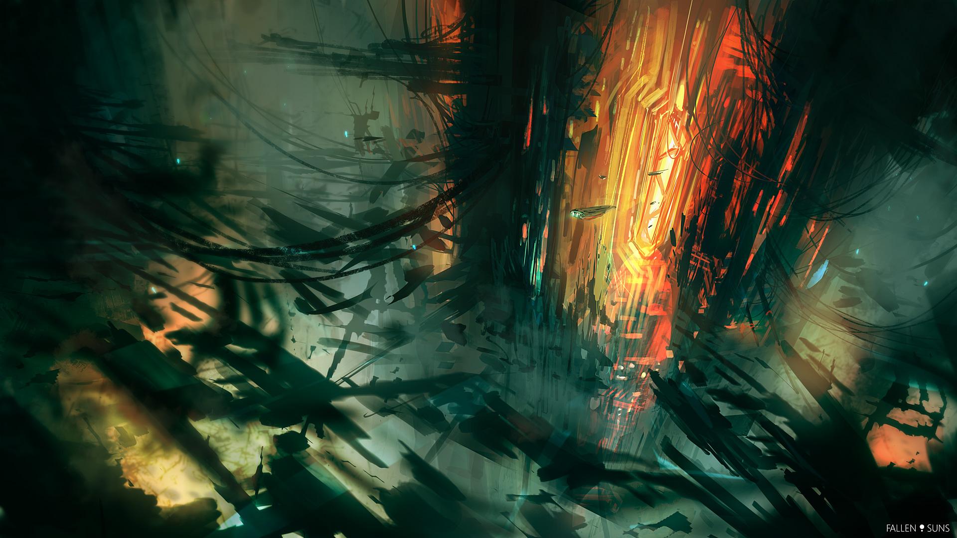 Fallen Suns: Pirate base by MacRebisz