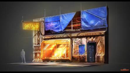 Project Sunlight: Street building 2 by MacRebisz