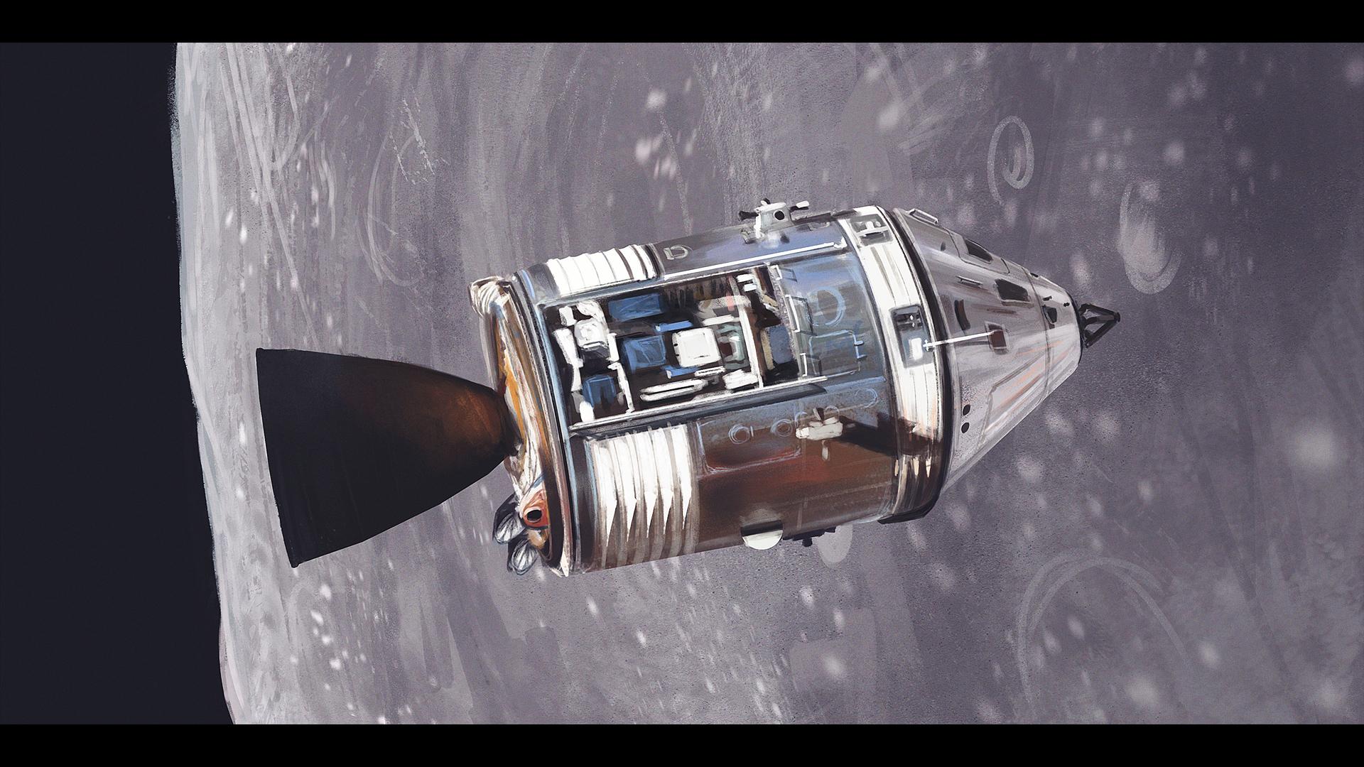 apollo 13 service module location - photo #35