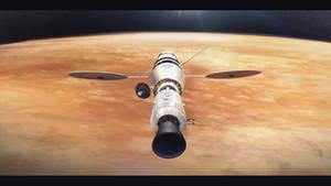 Morning Star Venus flyby by MacRebisz