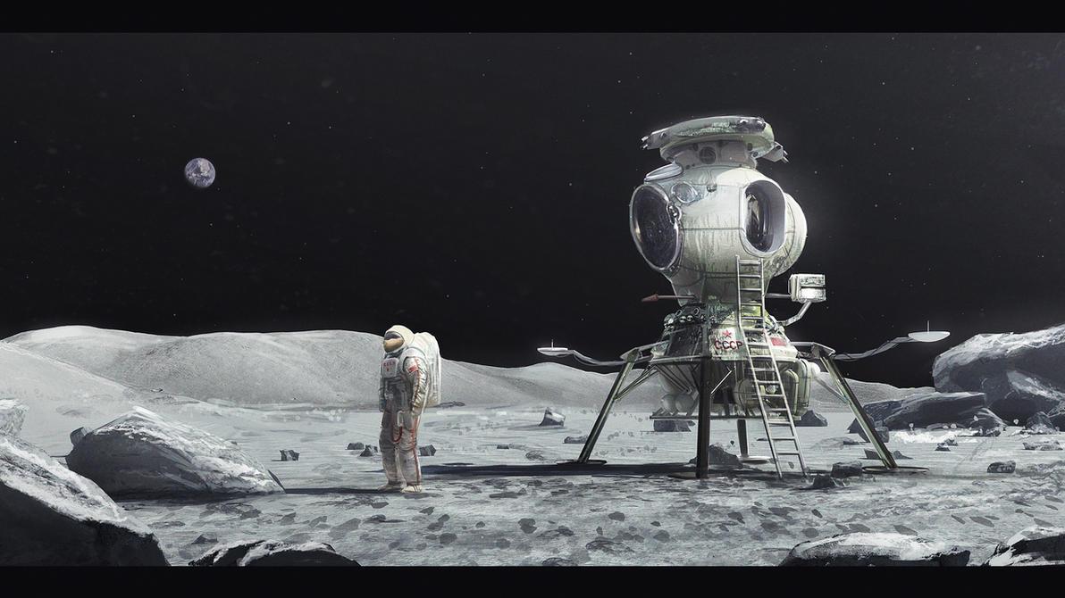 Soviet Moon by MacRebisz on DeviantArt