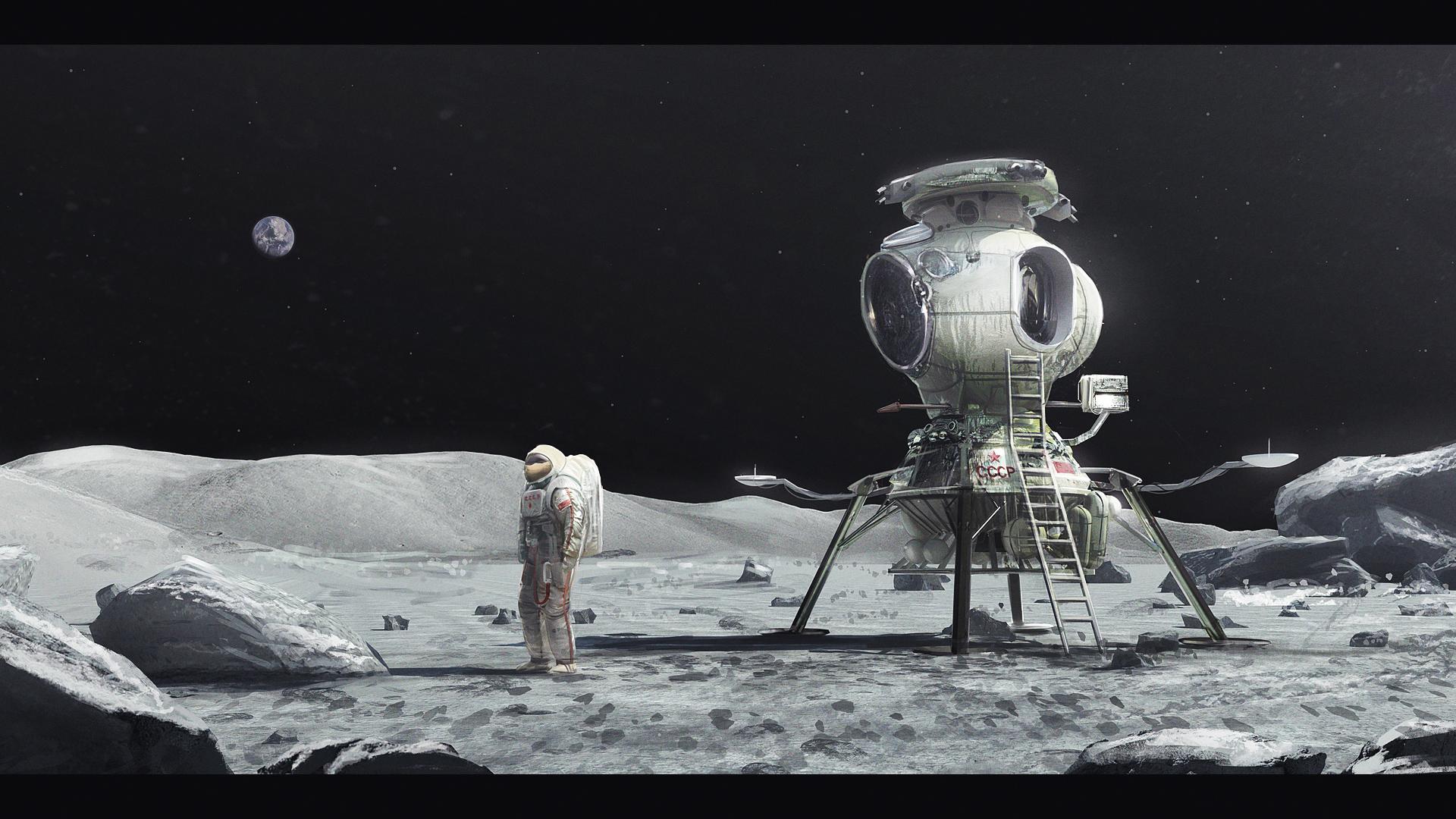 soviets moon landing rockets - photo #19