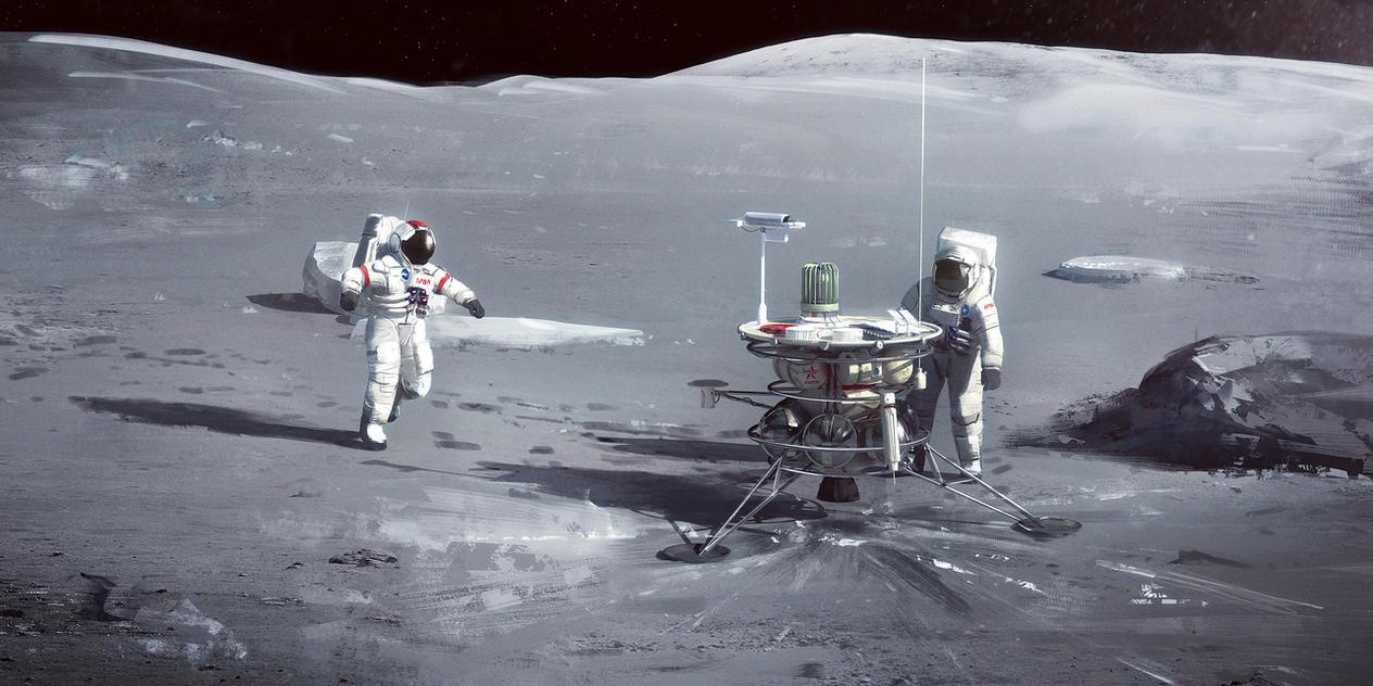 Lunar Investigation by MacRebisz