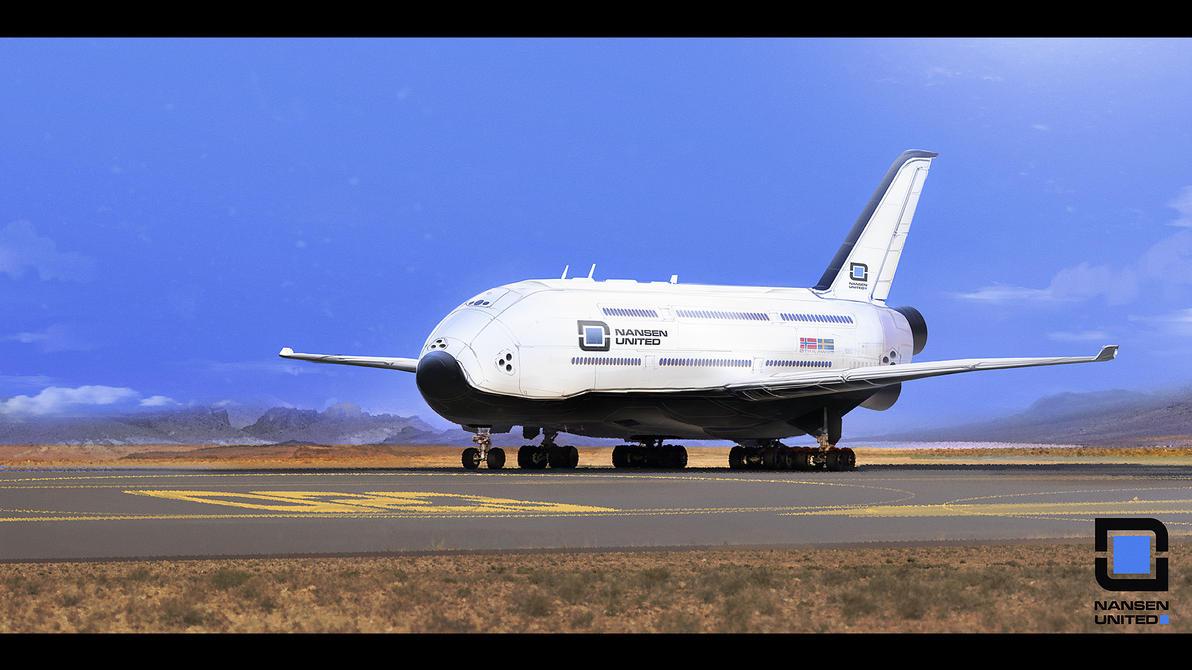 Spaceplane 1 by MacRebisz