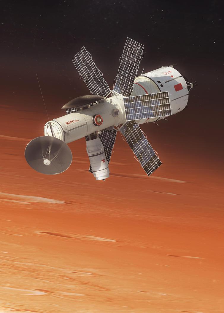 Mars TMK-1 by MacRebisz